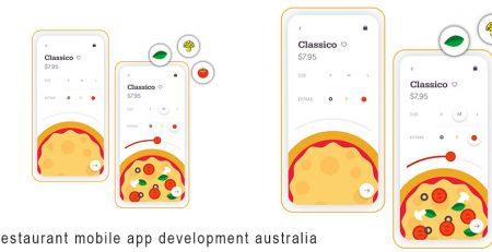 Restaurant mobile app development australia